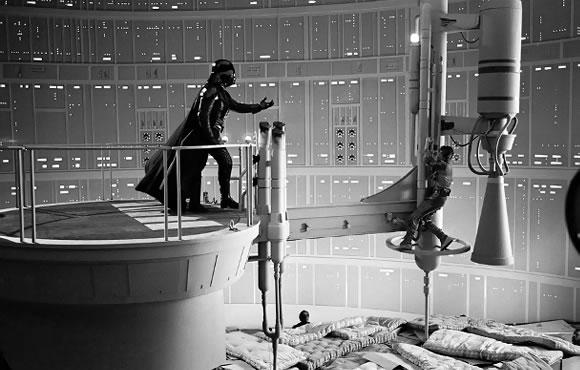 Gravação cena final de Star Wars