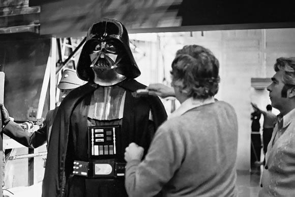 Limpando Darth Vader