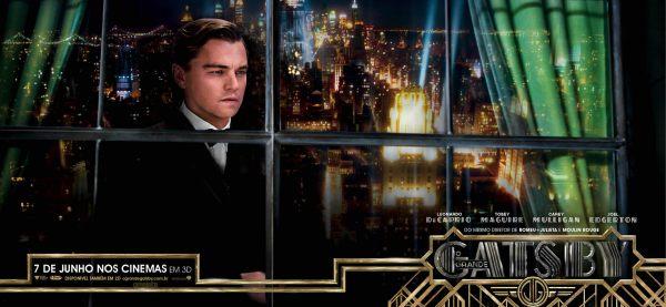 Leonardo DiCaprio é o novo Gatsby
