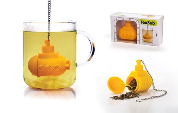infusor de cha Este item pode ser comprado na Amazon por US$ 12