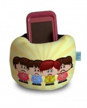 porta-celular porta-celular pode ser encontrado no IKS Design, por R$ 19,90. Ele é feito sob encomenda.