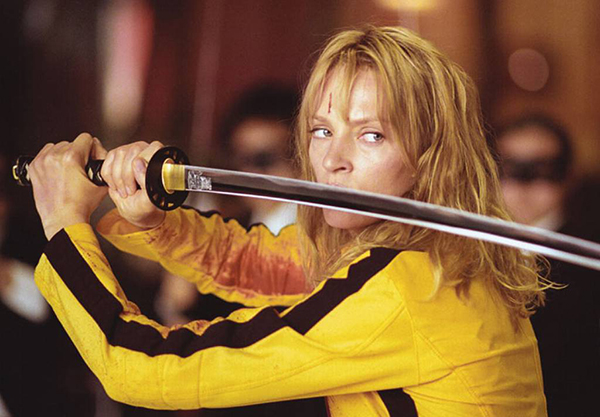 uma thurman - kill bill copy